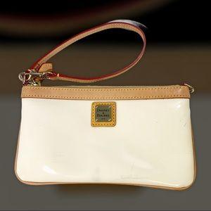 DOONEY & BOURKE patent leather wristlet